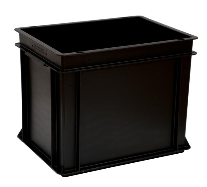 Euro-Behälter 400x300x325 ESD