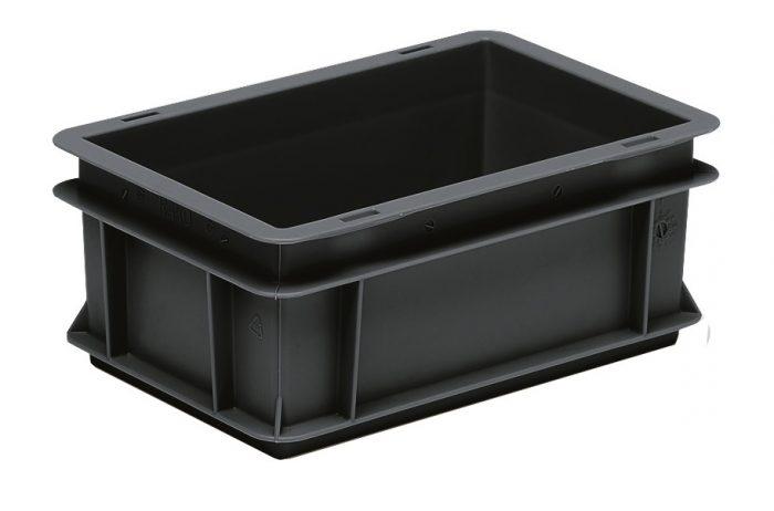 Euro-Behälter 300x200x120 ESD