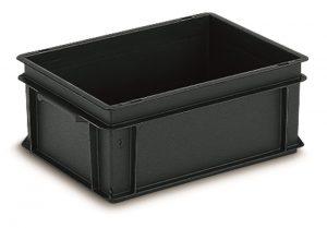 Euro-Behälter 400x300x270 ESD