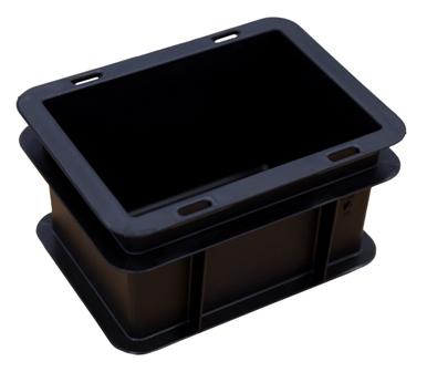 Euro-Behälter 200x150x120 ESD