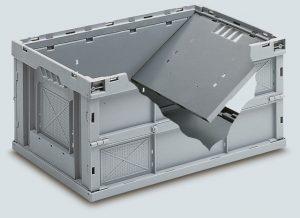 Faltbox 600x400x320 mit Deckel